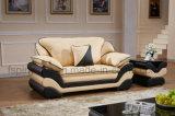 Insieme europeo del sofà del cuoio di stile di vendita calda