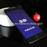 protector Anti-Azul curvado 9h de la pantalla del teléfono móvil del vidrio Tempered del rayo del borde 3D para el iPhone 6/6s