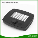 PIR Motion Sensorの屋外の庭30 LED Solar Garage Light
