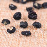 Il nero secco organico Wolfberry della bacca di Goji della nespola