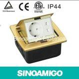 Brass Caja Suelo Estance Prise de courant Prise de sol