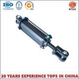 Cilindro hidráulico ativo de Rod de laço do dobro do OEM