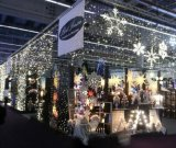 세륨을%s 가진 LED Christmas Star Curtain Light