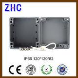 120*120*82 het elektronische Vakje van het Aluminium van de Bescherming van de Bijlage van het Project van het Gebruik IP66 vlak Gegoten