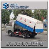 1t 2t 3t Mini Dumper Truck 4X2 Small Dump Garbage Truck