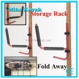 Stockage de planche de surfing de garage de support de palette de parenthèse de cintre de mur de porteur de canoë de support de kayak