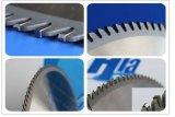 Diferentes dientes de corte de madera, metal y aluminio Sierra de widia