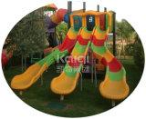 Спортивная площадка крупноразмерных детей Kaiqi пластичная напольная для Residentional обстрагывает, парк атракционов с характеристикой природы