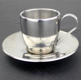 ステンレス鋼のコーヒーミルクのコップのSuggerのコップ