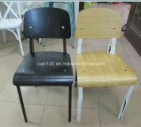 Cadeira padrão do preto do estilo de Jean Prouve (DC-151014)