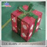 옥외 다채로운 선물 상자 전시 크리스마스 LED 훈장 빛