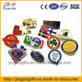 Kundenspezifisches Firmenzeichen-Metallreverspin-Abzeichen, weiches Decklackpin-Abzeichen
