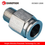Stainless pneumatique Steel Push dans Fittings