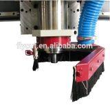 Fabrik-Zubehör-hölzernes Acryl MDF-Kurbelgehäuse-Belüftung, das CNC-Fräser-Maschine bekanntmacht