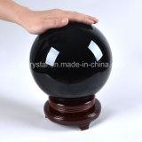 De stevige Grote Zwarte Kleur van de Kristallen bol voor de Decors van het Huis