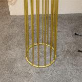 Klassisches Hotel-dekoratives Poliergoldstehende Fußboden-Lampe