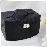 Multifunktionsnizza PU-Leder-verpackenschmucksache-Kasten für Mädchen