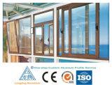مص إمداد تموين مباشر ألومنيوم قطاع جانبيّ لأنّ كلّ أنواع نافذة وباب