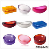 Color Translucent Sanitary Ware Pure Acrylic Resin Bathroom Basin의 종류