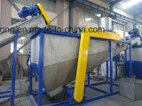 Ce wasted PE PP Film Pet Bouteille / Flakes Crushing Washing Drying Line / Granules recyclés Making Machine