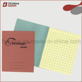 As páginas brilhantes coloridas do livro de exercício A4 72 Assorted