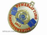 Médaille molle en alliage de zinc faite sur commande de sport d'émail avec la bande