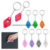 Promotie Nieuwe Manier Plastic Keychains met LEIDEN Flitslicht