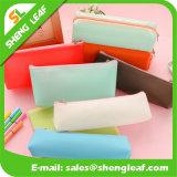Venta al por mayor impresión de la insignia de la pluma bolsa con cremallera de diferentes colores (SLF-PB008)