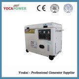 Pequeño generador diesel silencioso eléctrico insonoro refrigerado 5kVA