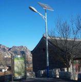 luz de calle solar de 60W LED para la iluminación del jardín del camino