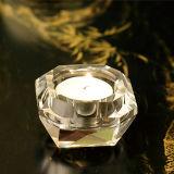 Vario arte del candelero del vidrio cristalino de la dimensión de una variable para la decoración del regalo