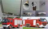 De Deuren van de Vrachtwagen van de brand voor de Redding van de Noodsituatie (Brandblusapparaat)