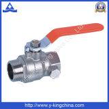 Válvula de esfera sanitária forjada do encanamento de bronze (YD-1005)