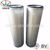Cartuccia pieghettata lavabile di filtro dell'aria del poliestere