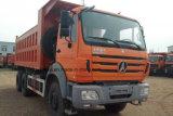 오른손 드라이브 25t Beiben 6X4 팁 주는 사람 트럭