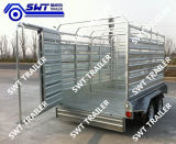 ATM 3.5ton (SWT-CCT95)의 가축 Crate Trailer 9*5