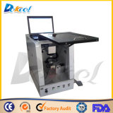 iPhone Cover/Kitchen Ware Logo를 위한 Shipping 자유로운 Portable Fiber Laser Marking Machine