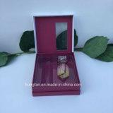 Rectángulo del conjunto del papel del perfume de la dimensión de una variable del libro con la ampolla