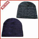 Invierno de acrílico Promoción de punto Hat Cuffed Jacquard Beanie