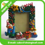 Promotion Items (SLF-PF030)のためのゴム製Decorative Photo Frame