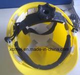 HDPE V様式の安全ヘルメット(VP-2)、PPのシェルのセリウムEn397のカスタムアメリカの産業安全のヘルメット、セリウムEn397 ABS/PEの慰めの保護帽子の調節可能な安全ヘルメット