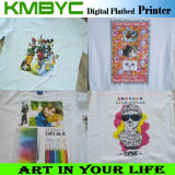 A3 Size Digital Flatbed Printer T Shirt Printing Machine mit Colorful Effect
