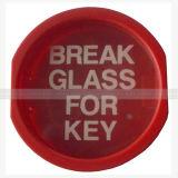 キーのための壊れ目のガラスボックス