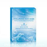 Qianbaijia Natural Ácido Hialurónico Cuidado de la piel Máscara Hidratante