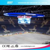 Refresh élevé Rate P3 Full Color Curved DEL Screens pour Stadium/Mall Fixed Installation