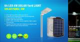 luz solar completa da segurança da bateria de lítio da alta qualidade do diodo emissor de luz 8W