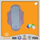 Rondelles sanitaires jetables de coton femelle en gros d'hygiène