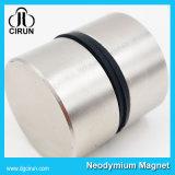 Neodym-Magnet der Durchmesser-40mm*20mm runder Platten-N35