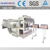 Pleins planchers proches automatiques scellant et machine d'emballage en papier rétrécissable