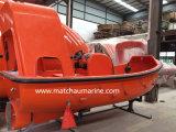 C Type Davit와 4.3m Fibreglass Fast Rescue Boat
